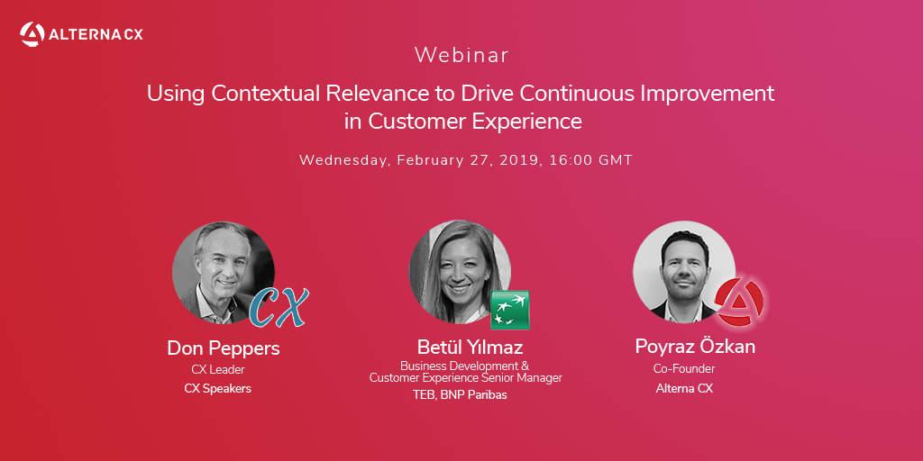 Contextual Relevance to Drive Continuous Improvement in CX
