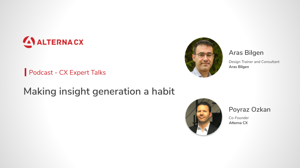 Making insight generation a habit
